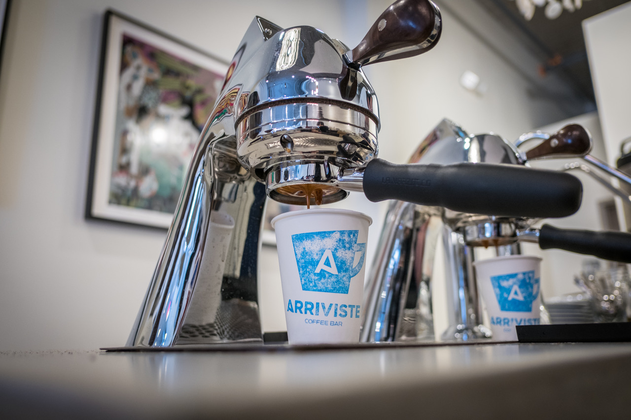 arriviste coffee, pittsburgh speciality coffee