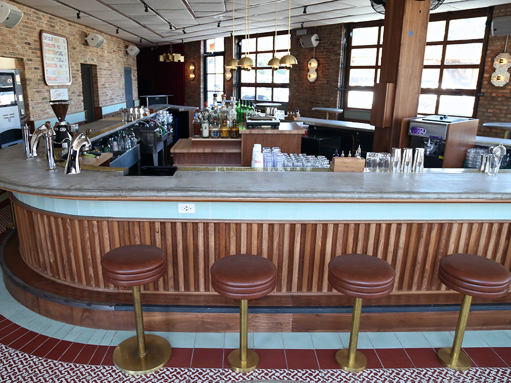Estereo, Heisler Hospitality, all-day cocktail bar Logan Square, Chicago, Four Letter Word Coffee